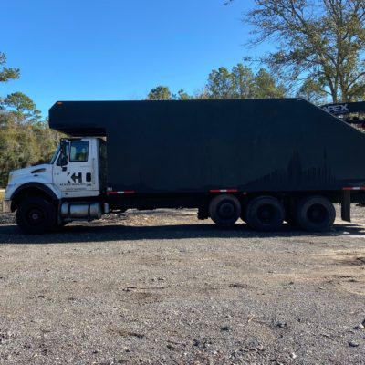 Debris removal is easy with Kenzie Hauling! Our process is very simple, you pile the debris up along your driveway or the road, give us a call and within 1-2 Days we will remove your pile. We can haul yard waste as well as construction debris.