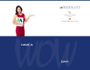 Merkley Marketing Group login background
