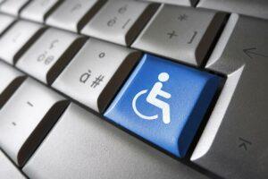 Keyboard with handicap key